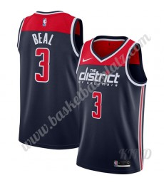 Washington Wizards Trikot Kinder 2019-20 Bradley Beal 3# Marine Finished Statement Edition NBA Triko..