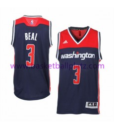 Washington Wizards Trikot Herren 15-16 Bradley Beal 3# Alternate Basketball Trikot Swingman..