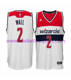 Washington Wizards Trikot Herren 15-16 John Wall 2# Home Basketball Trikot Swingman..
