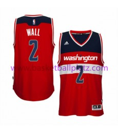 Washington Wizards Trikot Herren 15-16 John Wall 2# Road Basketball Trikot Swingman..