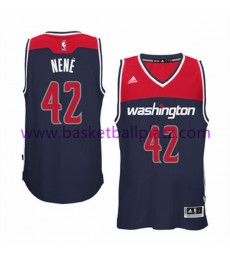 Washington Wizards Trikot Herren 15-16 Nene Hilario 42# Alternate Basketball Trikot Swingman..