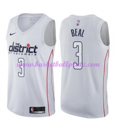 Washington Wizards Trikot Herren 2018-19 Bradley Beal 3# City Edition Basketball Trikots NBA Swingma..