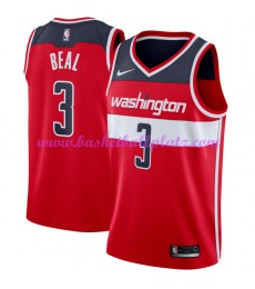 Washington Wizards Trikot Herren 2018-19 Bradley Beal 3# Icon Edition Basketball Trikots NBA Swingma..
