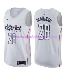 Washington Wizards Trikot Herren 2018-19 Ian Mahinmi 28# City Edition Basketball Trikots NBA Swingma..