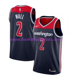 Washington Wizards Trikot Herren 2018-19 John Wall 2# Statement Edition Basketball Trikots NBA Swing..