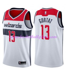 Washington Wizards Trikot Herren 2018-19 Marcin Gortat 13# Association Edition Basketball Trikots NB..
