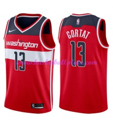 Washington Wizards Trikot Herren 2018-19 Marcin Gortat 13# Icon Edition Basketball Trikots NBA Swing..