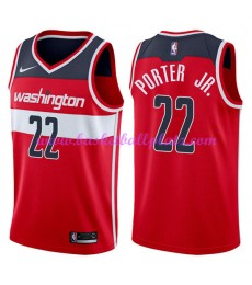 Washington Wizards Trikot Herren 2018-19 Otto Porter Jr. 22# Icon Edition Basketball Trikots NBA Swi..