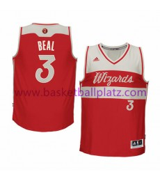 Washington Wizards Trikot Herren 2015 Bradley Beal 3# NBA Weihnachten Basketball Trikot Swingman..