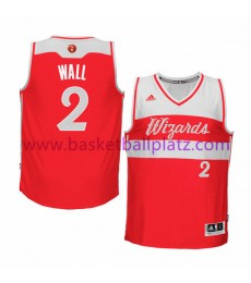 Washington Wizards Trikot Herren 2015 John Wall 2# NBA Weihnachten Basketball Trikot Swingman..