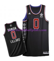 West NBA All Star Game Trikot Herren 2015 Damian Lillard 0# Basketball Trikots Swingman