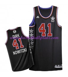 West NBA All Star Game Trikot Herren 2015 Dirk Nowitzki 41# Basketball Trikots Swingman