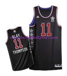 West NBA All Star Game Trikot Herren 2015 Klay Thompson 11# Basketball Trikots Swingman