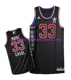 West NBA All Star Game Trikot Herren 2015 Marc Gasol 33# Basketball Trikots Swingman..