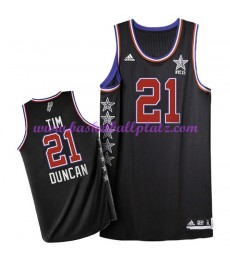 West NBA All Star Game Trikot Herren 2015 Tim Duncan 21# Basketball Trikots Swingman..