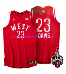 West NBA All Star Game Trikot Herren 2016 Anthony Davis 23# Basketball Trikots Swingman