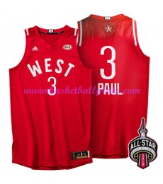 West NBA All Star Game Trikot Herren 2016 Chris Paul 3# Basketball Trikots Swingman