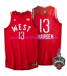 West NBA All Star Game Trikot Herren 2016 James Harden 13# Basketball Trikots Swingman