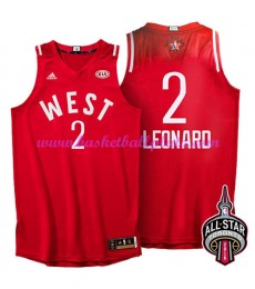 West NBA All Star Game Trikot Herren 2016 Kawhi Leonard 2# Basketball Trikots Swingman