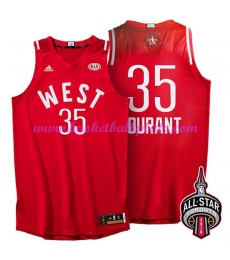 West NBA All Star Game Trikot Herren 2016 Kevin Durant 35# Basketball Trikots Swingman..