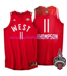 West NBA All Star Game Trikot Herren 2016 Klay Thompson 11# Basketball Trikots Swingman