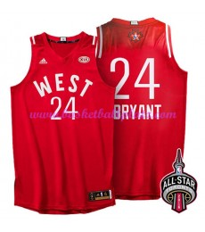 West NBA All Star Game Trikot Herren 2016 Kobe Bryant 24# Basketball Trikots Swingman