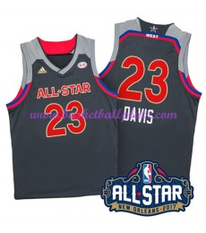West NBA All Star Game Trikot Herren 2017 Anthony Davis 23# Basketball Trikots Swingman..