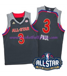 West NBA All Star Game Trikot Herren 2017 Chris Paul 3# Basketball Trikots Swingman