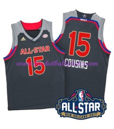 West NBA All Star Game Trikot Herren 2017 Demarcus Cousins 15# Basketball Trikots Swingman..