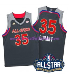 West NBA All Star Game Trikot Herren 2017 Kevin Durant 35# Basketball Trikots Swingman