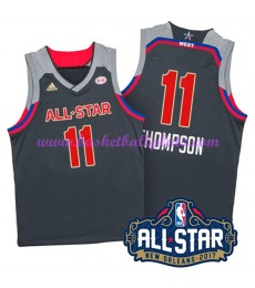 West NBA All Star Game Trikot Herren 2017 Klay Thompson 11# Basketball Trikots Swingman
