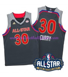 West NBA All Star Game Trikot Herren 2017 Stephen Curry 30# Basketball Trikots Swingman