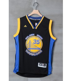 Golden State Warriors Trikot Herren 15-16 Kevin Durant 35# Alternate Basketball Trikot Swingman..