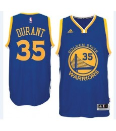 Golden State Warriors Trikot Herren 15-16 Kevin Durant 35# Road Basketball Trikot Swingman..