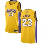 Los Angeles Lakers Trikot Herren 2018-19 LeBron James 23# Icon Edition Basketball Trikots NBA Swingman