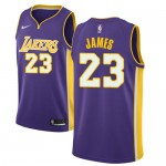 Los Angeles Lakers Trikot Herren 2018-19 LeBron James 23# Statement Edition Basketball Trikots NBA Swingman