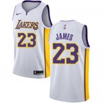 Los Angeles Lakers Trikot Herren 2018-19 LeBron James 23# Association Edition Basketball Trikots NBA Swingman