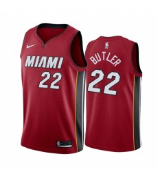 Miami Heat Trikot Kinder 2019-20 Jimmy Butler 22# Statement Edition NBA Trikots Swingman..