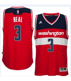 Washington Wizards Trikot Herren 15-16 Bradley Beal 3# Road Basketball Trikot Swingman..