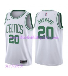 Boston Celtics NBA Trikot Kinder 2018-19 Gordon Hayward 20# Association Edition Basketball Trikots S..