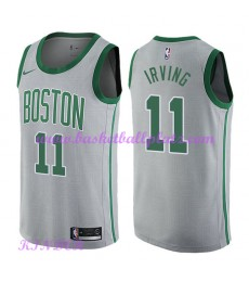 Boston Celtics NBA Trikot Kinder 2018-19 Kyrie Irving 11# City Edition Basketball Trikots Swingman..
