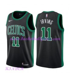 Boston Celtics NBA Trikot Kinder 2018-19 Kyrie Irving 11# Statement Edition Basketball Trikots Swing..