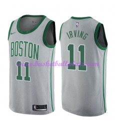 Boston Celtics Trikot Herren 2018-19 Kyrie Irving 11# City Edition Basketball Trikots NBA Swingman..