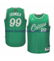 Boston Celtics Trikot Herren 2015 Jae Crowder 99# NBA Weihnachten Basketball Trikot Swingman..