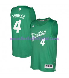 Günstige NBA Weihnachten Basketball Trikots Boston Celtics Herren 2016 Isiah Thomas 4# Swingman..