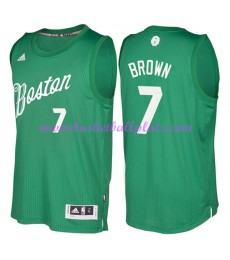 Günstige NBA Weihnachten Basketball Trikots Boston Celtics Herren 2016 Jaylen Brown 7# Swingman..