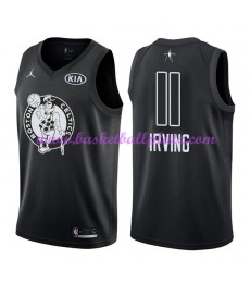 Boston Celtics Trikot Herren Kyrie Irving 11# Schwarz 2018 NBA All Star Game Basketball Trikots Swin..