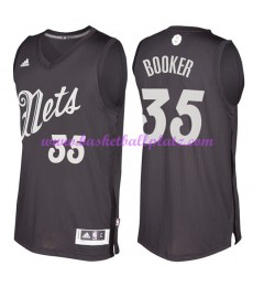 Günstige NBA Weihnachten Basketball Trikots Brooklyn Nets Herren 2016 Trevor Booker 35# Swingman..