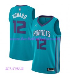 Charlotte Hornets NBA Trikot Kinder 2018-19 Dwight Howard 12# Icon Edition Basketball Trikots Swingm..