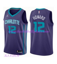 Charlotte Hornets NBA Trikot Kinder 2018-19 Dwight Howard 12# Statement Edition Basketball Trikots S..